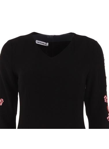 Modailgi Elbise Siyah